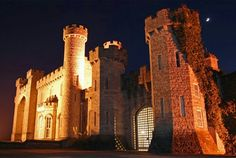 Bodelwyddan Castle, Rhyl Denbighshire, Wales @Night view!