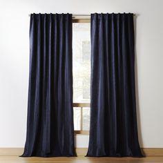 Blue Velvet Curtains, Navy Blue Curtains, Long Curtains, Burlap Curtains, Modern Curtains, White Curtains, Panel Curtains, Navy Curtains Bedroom, Curtain Panels