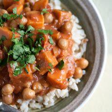 Secret Recipe Club: Chickpea and Sweet Potato Curry Recipe