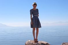 Madewell-Inspired Striped Dress by Haylee Atkinson | Project | Sewing / Dresses | Kollabora