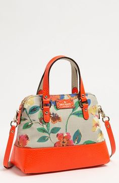kate spade new york grove court - maise satchel USD 318 Beautiful Handbags, Beautiful Bags, Fashion Bags, Fashion Accessories, Nordstrom, My Bags, Purses And Handbags, Crossbody Bag, Shoulder Bag
