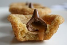 Snickerdoodle Cups with Caramel Kisses   Tasty Kitchen: A Happy Recipe Community!