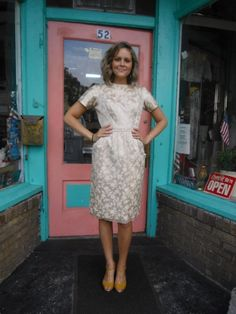 1960s Vintage Anne Klein Label Brocade Informal Weddings, Types Of Girls, Free Wedding, Clothes Horse, Summer Dresses, Formal Dresses, Anne Klein, Me Too Shoes, 1960s