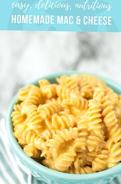 The ultimate kidfavorite dinner doesnt have to come from a box Make this easy creamy homemade mac and cheese on your stove top using just simple nutritious ingredients. Mac And Cheese Healthy, Boxed Mac And Cheese, Making Mac And Cheese, Easy Mac And Cheese, Mac And Cheese Homemade, Macaroni And Cheese, Mac Cheese, Baby Mac And Cheese Recipe, Kids Meals