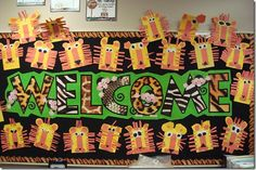 Terrific Absolutely Free preschool classroom welcome Strategies Do you think you re a new teacher who s going to be wondering exactly how to set Terrific Absolutely Free preschool classroom welcome Strategies Do you think you re a new teacher who s go Animal Print Classroom, Jungle Theme Classroom, Classroom Welcome, Classroom Themes, Rainforest Classroom, Free Preschool, Kindergarten Classroom, Preschool Jungle, Preschool Decor