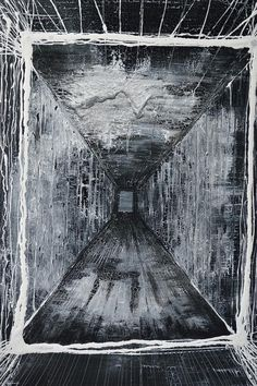 Fear (oil on canvas 70x100) #art #leinwerrit #fear #painting