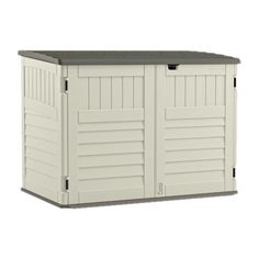Found it at Wayfair - 5 ft. 10 in. W x 3 ft. 8 in D Plastic Storage Shed