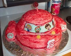 Homemade Little Einsteins Cake: I made this Little Einsteins Cake for my son's 3rd birthday. He LOVED the Little Einsteins when you couldn't find much of anything for them - toys, cake
