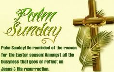 Palm Sunday Poems