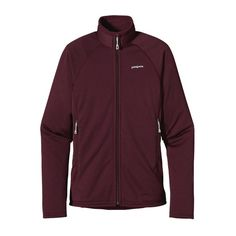 Patagonia Women\'s R1\u00AE Full-Zip Fleece Jacket - Dark Currant DKCT