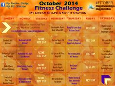 FitOber: Your October Fitness Challenge !