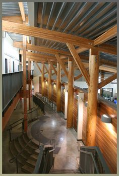 glulam and steel structure - Google Search