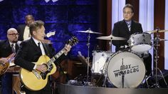 Conan O'Brien and his former long-running house band drummer Max Weinberg, of the E Street Band, reunited for the first time in nearly five years. http://www.rollingstone.com/tv/videos/watch-conan-obrien-and-max-weinberg-reunite-on-conan-20141029