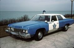 looks like 70s cop car