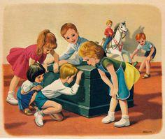 Marcel Marlier Tiny Speelt toneel 1959 ill pg 5 | by janwillemsen