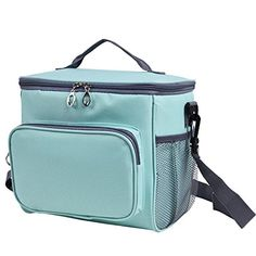 Adult Lunch Bag Insulated Lunch Box Large Cooler Tote Bag for Men & Women, Double Deck Heat-resistant Cooler with Adjustable Shoulder Handbag(blue). For product & price info go to:  https://all4hiking.com/products/adult-lunch-bag-insulated-lunch-box-large-cooler-tote-bag-for-men-women-double-deck-heat-resistant-cooler-with-adjustable-shoulder-handbag%ef%bc%88blue%ef%bc%89/