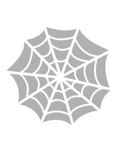 Printable Spider Web Stencil - Coolest Free Printables. This stencil is good to use on cupcakes, cookies & cakes.