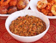 Inspiration and Ghanaian Black Eye Pea Curry © Jeanette's Healthy Living