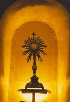 (Image Source: Vultus Christi) I long to see them enter my sanctuary and approach the tabernacle of my abiding presence. I wait for them in the Sacrament that I left for their sakes as the expressi...