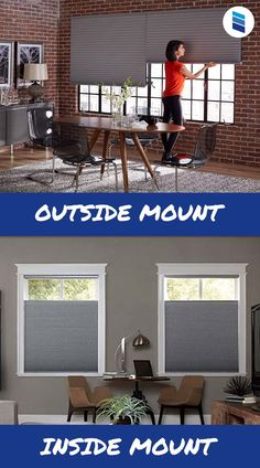 What is an outside mount? How do you measure for it? Will my windows still look good? We've got answers to your biggest outside mount questions. #homedecor #interiordesign #windows #romanshades #windowtreatments #decorideas Types Of Window Treatments, Window Treatments Living Room, Living Room Windows, Cellular Blinds, Cellular Shades, Outside Mount Blinds, Best Blinds, Honeycomb Shades, Woven Wood Shades