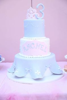 This princess cake from Rafi's Pastry was simply divine.  Source: Melody Melikian Photography