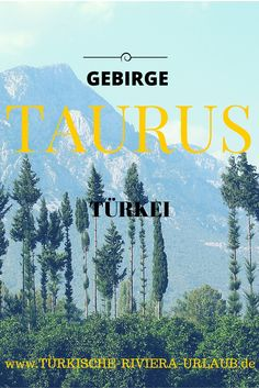 Die Gebirgskett an der Südküste der Türkei - das Taurusgebirge! #Taurusgebirge #Türkei