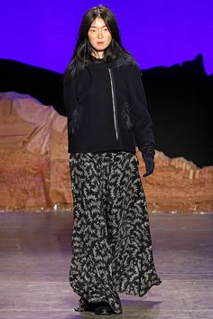 Band of Outsiders Fall 2012 Ready-to-Wear Fashion Show - Sung Hee
