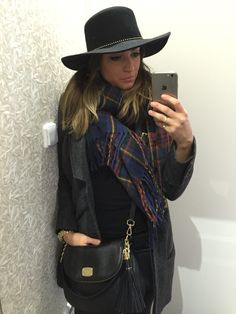 #hat outfit and my new MK handbag