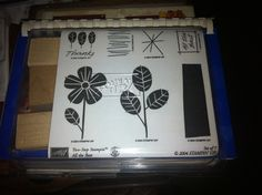 "$1.99 ""All the Best"" set of 7 rubber stamps from Stampin Up. Found at Goodwill."