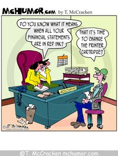 Accountant Joke Accounting Cartoons | Accounting Cartoons by T- McCracken
