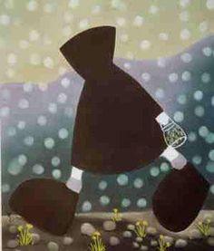 """Original Painting """"Jar Full of Sweetness"""" by Mackenzie Thorpe"""