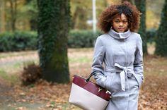 H&M OUTFITS | Blog mode Bordeaux www.pompompidou.com // #coat #manteau #hm #glamour #chic #dress #robe #classy #casual #fashion #boots