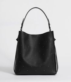 d0f4342a1e06 Buy AllSaints Kathi Leather North South Tote Bag