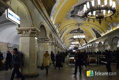 Las mejores estaciones de metro de Moscú