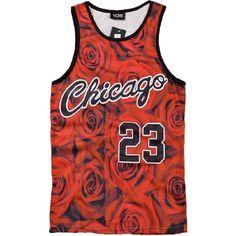 YCMI Hip Hop Men's Chicago Jordan 23 Gym Tank Tops Undershirt... ($8.80) ❤ liked on Polyvore featuring men's fashion, men's clothing, mens clothing, mens basketball jerseys and mens apparel
