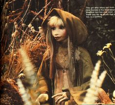 Kira from The Dark Crystal. I pretended I was Kira, not Barbie when I was a kid.