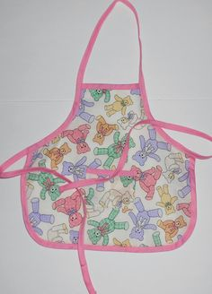20% OFF use code CHRISTMAS2014 #Teddy #Bear #toddler #apron by beckyspillowshop #Toddleraprons Please repin if you like it.