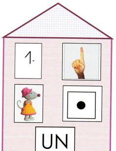 Les maisons des chiffres Preschool Board Games, Kindergarten Math, Math Games, Preschool Activities, Maths Investigations, Mathematics Games, Montessori, Act Math, Math Numbers