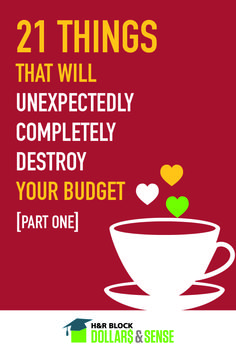 21 Things That Will Unexpectedly Completely Destroy Your Budget - Part 1 #finance #saving