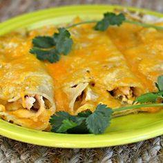 Instant Pot® Chicken Enchiladas Green Enchilada Sauce, Enchilada Recipes, Salsa Verde, Best Mexican Recipes, Ethnic Recipes, Fun Recipes, Recipe Ideas, Dinner Recipes, Instant Pot