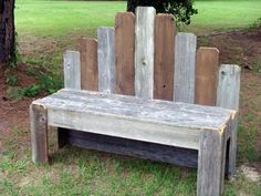 DIY Pallet Furniture Ideas - DIY Pallet Garden Bench - Best Do It Yourself Projects Made With Wooden Pallets - Indoor and Outdoor, Bedroom, Living Room, Patio. Coffee Table, Couch, Dining Tables, Shelves, Racks and Benches http://diyjoy.com/diy-pallet-furniture-projects