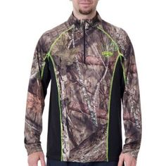 Men's Realtree Performance Short Sleeve Tee, Multicolor