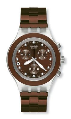 Swatch Irony Diaphane Chrono Full Blooded Earth Watch SVCK4042AG Swatch. $126.69. Save 21% Off!