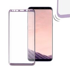 #Valentines #AdoreWe #BangGood - #Galaxy Purple 3D Arc EdgeTempered Glass Full Screen Protector for Samsung Galaxy S8 & S8 plus - AdoreWe.com