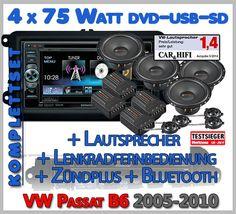 Mit diesen Set wird der ganze Autoradio Einbau ganz einfach. http://www.radio-adapter.eu/blog/produkt/vw-passat-b6-autoradio-bluetooth-dvd-can-bus-mit-lautsprecher-set/ Das neueVW Passat B6 Kenwood Bluetooth DVD Autoradio mit Lautsprecher hat alle modernen Funktionen, wie DVD und Bluetooth. Die Radioble…