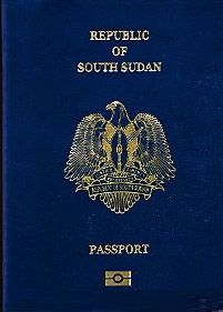 South Sudan Passport. The South Sudanese passport is given to citizens of South Sudan for international travel. The Republic of South Sudan started issuing internationally recognized electronic passports in January 2012. The passports were officially launched by the President Salva Kiir Mayardit on January 3, 2012, in a ceremony in the capital city of Juba. The new passport will be valid for five years. (V)