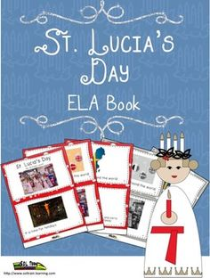 Christmas Around the World: This Christmas Around the World book is about St. Lucia in Sweden. This book was written to go with a song that uses words from our Christmas Around the World Calendar for December. This Christmas Around the World book comes in color for the teacher and BW for the student copies. We have written our St. Lucia book to accompany 4 otherChristmas Around the World books.