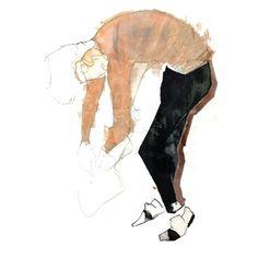 Lanvin Illustrations by Henry Radford | Trendland: Fashion Blog &... ❤ liked on Polyvore