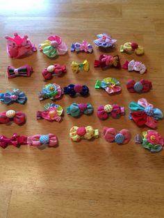 Wholesale Handmade 25 Hair Pieces Lot 15 #Handmade