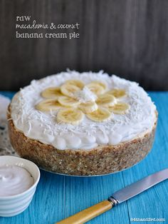 Raw Vegan Macadamia & Coconut Banana Cream Pie by 84thand3rd, via Flickr